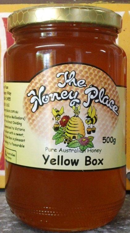 Yellow Box 500g Glass Jar