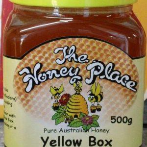 Yellow Box 500g Plastic Jar