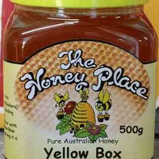 Yellow Box 500g Plastic Jar